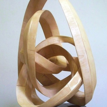"Natural poplar wood 17""W x 30""H x 17""D Commission for The Burswood Resort Perth, Australia"